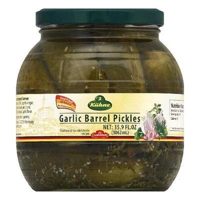 Gundelsheim Garlic Barrel Pickles, 35.9 OZ (Pack of 6)