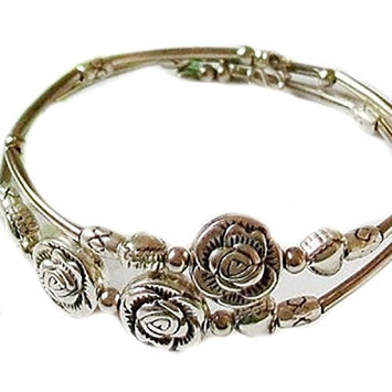 Doinshop New Nice Fashion Tibetan Silver Retro Women Hand Chain Bracelet Jewelry