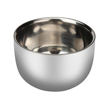 ABASSKY Man Fashion Stainless Steel Metal Men's Shaving Bowl Cup For Shave Brush