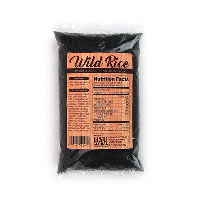 Minnesota Grown Long Grain Dried Wild Rice |16 Ounce Bag | Pack of 2, 1lb per bag