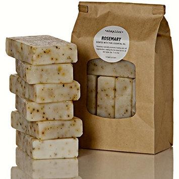 SIMPLICI Rosemary Bar Soap Value Bag (6 Bars)