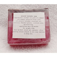 Handmade Natural Organic Lavender Moisturizing Soap. Face or Body Soap