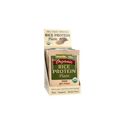 Nutribiotic - Organic Rice Protein Plain - 12 Packets