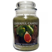 A Cheerful Candle CC34 RUSTIC WOODLAND FIG 24OZ - Pack of 2