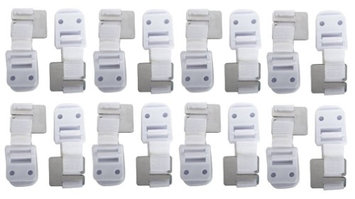 Safety 1st Furniture Wall Straps - 16 Count