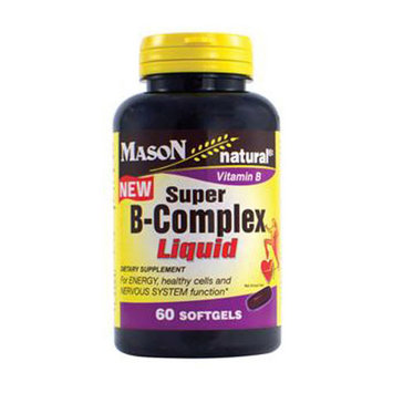 Mason Natural Super B-Complex Liquid Softgels - 60 Ea