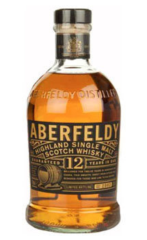 Aberfeldy Highland Single Malt Scotch Whiskey 12 Year Old
