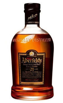 Aberfeldy Highland Single Malt Scotch Whiskey 21 Year Old