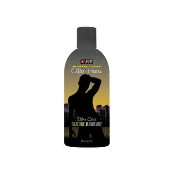 Topco Lucas Entertainment After Hours Silicone Lubricant, 8 Fluid Ounce (236 ml) Bottle