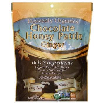 Heavenly Organics HONEY PATTIE, OG2, CHC GNGR, (Pack of 6)