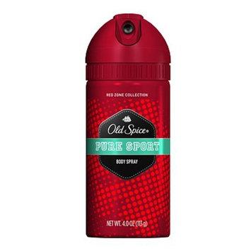 Spice Red Zone Re-Fresh Body Spray, Pure Sport 3.75