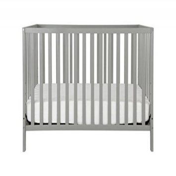 Union 4-in-1 Convertible Crib, Grey