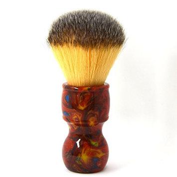 CSB Red Resin Handle Synthetic Fibre Shaving Brush Vegan Beard Shaving Tools