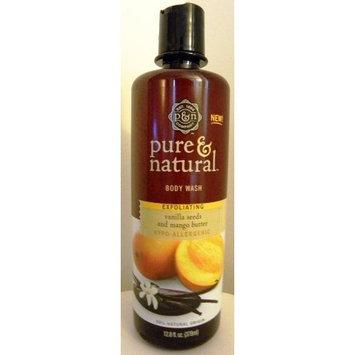 Pure & Natural Body Wash Vanilla Seeds & Mango Butter 12.8 Oz.
