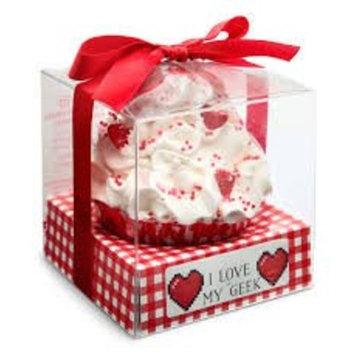 I Love My Geek 8-Bit Heart Cupcake Bath Bomb - Exclusive