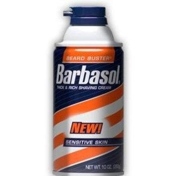 Barbasol Shave Cream for Sensitive Skin-11 oz (Pack of 6)
