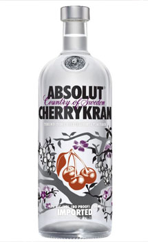 Absolut Vodka Cherrykran