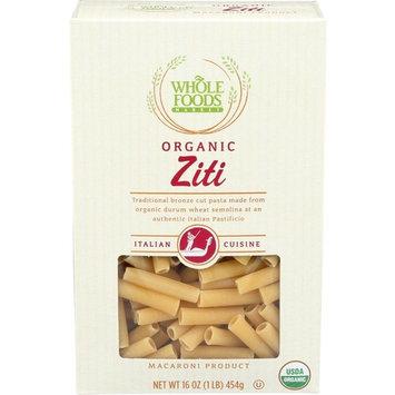 Whole Foods Market, Organic Ziti, 16 oz