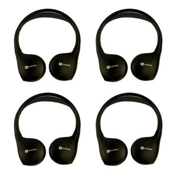 4) Audiovox IR1CFF Fold Flat Wireless Automotive Infrared Stereo Headphones