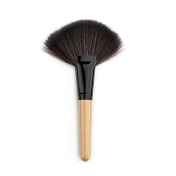 Leoy88 1pc Face Powder Foundation Brush M (Beige)