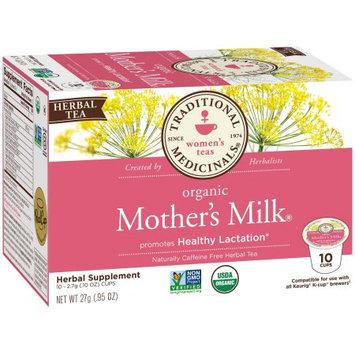 Traditional Medicinals Mother's Milk K-Cup Tea, Organic, 10 CT