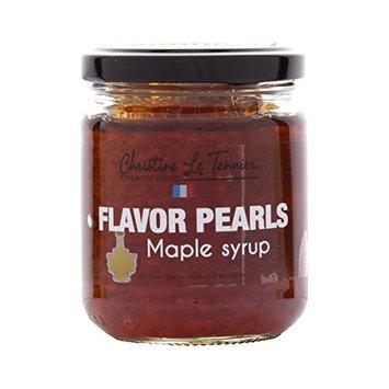 Christine Le Tennier Maple Syrup Flavor Pearls, 7oz Jar
