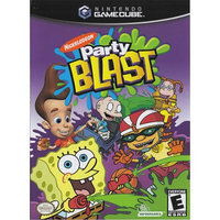 Nickelodeon Party Blast - [GameCube] - Used