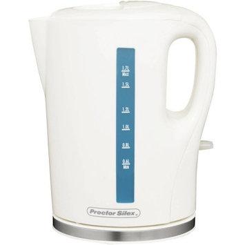 Hamilton Beach 1.8 Qt. Proctor Silex Cordless Electric Tea Kettle Color: White