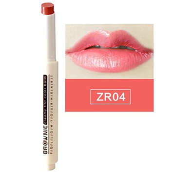 DZT1968 8 brightness Colors 10g Natural Press Moisturizing Lipstick Pen Velvet Balm Gloss Smudge Lasting