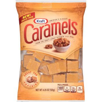 Kraft Vanilla Caramels Snack Bags