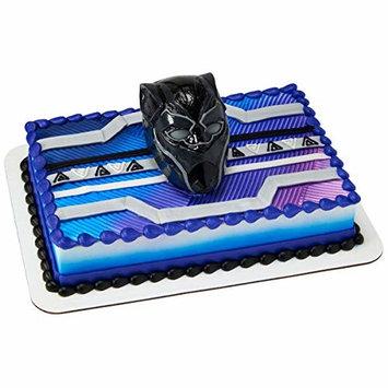 Decopac BLACK PANTHER WARRIOR KING DECOSET Cake Topper Decoration