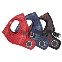 Puppia Cyber Space B Jacket Harness Color: Wine, Size: X-Large (9.5
