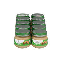 Beech-Nut Classics Stage 1 Beef & Beef Broth Baby Food, 2.5 oz, (Pack of 10)