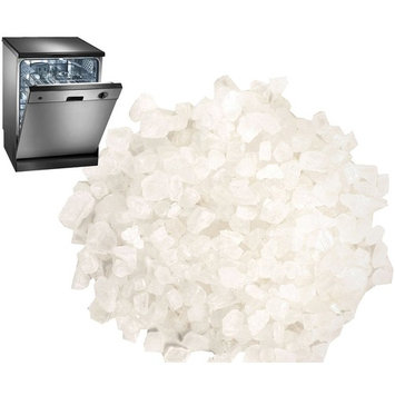 4.4 LB Dishwasher Salt / Water Softener Salt - Compatible with Bosch, Miele, Whirlpool, Thermador and More (2 KG)