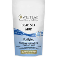 Westlab Dead Sea Mineral Mud pouch for Deep Cleansing and Purifying Skin