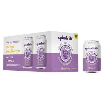 Spindrift Sparkling Water Blackberry -8pk/12 fl oz Cans