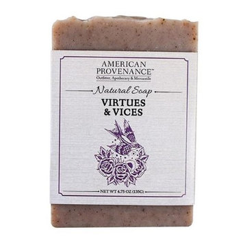 American Provenance 232450 4.75 oz Virtues & Vices Bar Soap