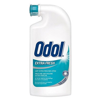 ODOL Extra Fresh - Concentrated Mouthwash (125ml / 4.25oz.ceramic bottle)