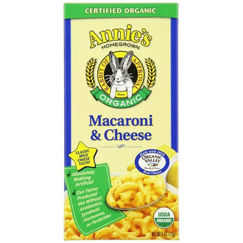 Annie's Homegrown Organic Classic Macaroni & Cheese 6 Ounce (Pack of 6)