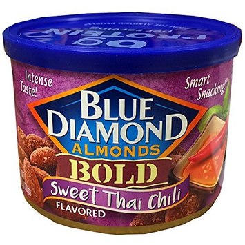 Blue Diamond Almonds Sweet Thai Chili, 6-Ounce Cans (Pack of 8 Cans)