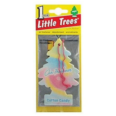 Car Frershener Little Trees Hanging Car and Home Air Freshener, Cotton Candy