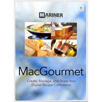Mariner Software Mariner MacGourmet 4
