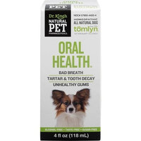 Oral Health for Dog KingBio Natural Pet 4 oz Liquid
