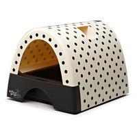 Kitty A Go Go Designer Cat Litter Box - Polka Dot