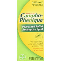 4 Pack - Campho-Phenique Pain Relieving Antiseptic Liquid, 0.75oz Each