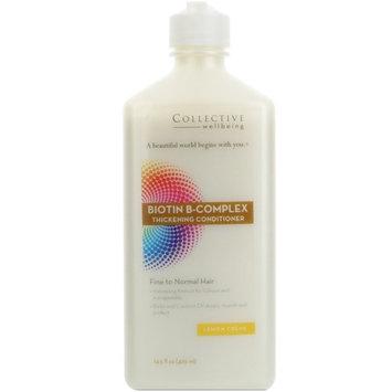 Life-Flo Collective Wellbeing Biotin B-Complex Thickening Conditioner Lemon Crème -- 14.5 fl oz