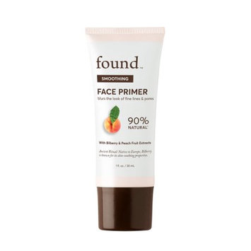 FOUND SMOOTHING Face Primer with Bilberry and Peach Fruit Extracts, 1 fl oz