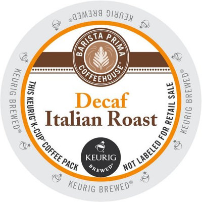Green Mountain Barista Primahouse Decaf Italian Roast Coffee, K-Cup Portion Pack for Keurig Brewers