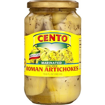 Cento - Marinated Long Stem Roman Artichokes, (2)- 19.6 oz. Jars