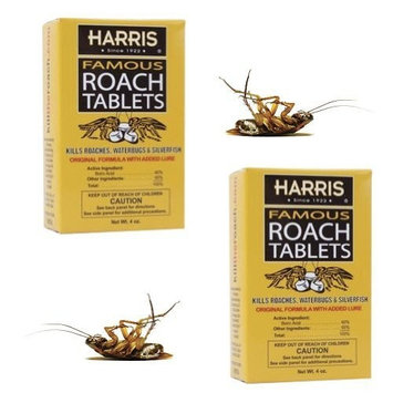 Harris Famous Roach Tablets - 4 oz (Pack of 2)